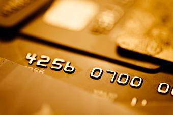 Gold creditcard