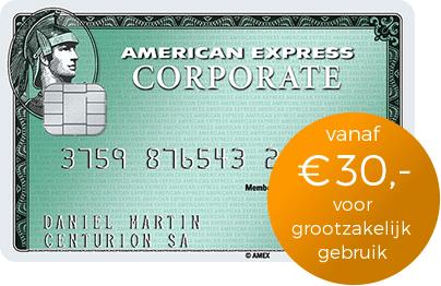 Creditcard voor corporate ondernemingen