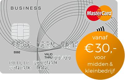 Creditcard voor Midden- en kleinbedrijf