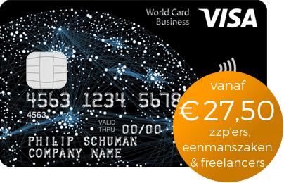 Creditcard voor Zzp & Eenmanszaak