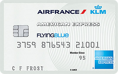 Flying Blue Entry Card