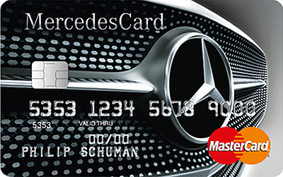Prepaid Credit Cards >> MercedesCard | €34,- p.j. Met Mercedes-Benz altijd ...