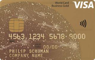 Visa Business Gold Card