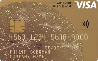 Visa Business Gold Card