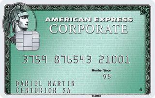 American Express Corporate Green Card