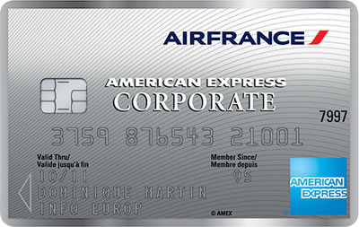 KLM Corporate Card