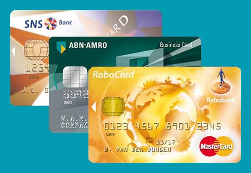 Creditcard met bankrekening