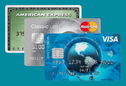 Creditcard zonder bankrekening