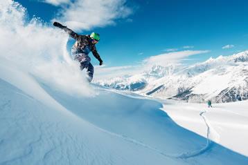 Betalen tijdens wintersport