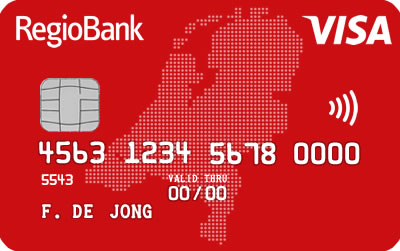 Regiobank Creditcard Jongeren